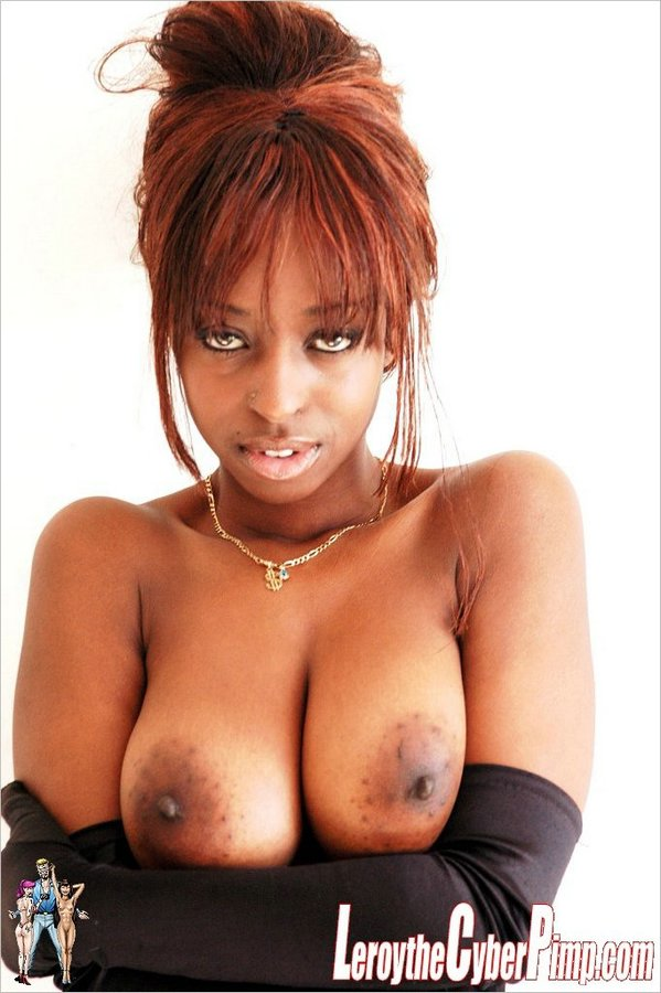 Cola shows off her epic titties (8)