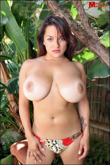 Monica Mendez unleashes her massive jugs (11)