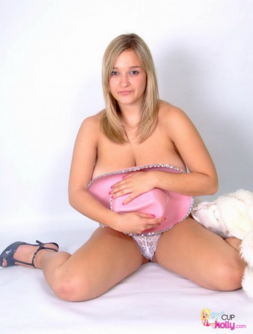 PHOTO   h cup holly cowgirl 13 366x484 - Busty teen H Cup Holly's boobs may break her horses back