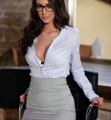PHOTO | Lauren Louise 12 370x400 - BANGING Brunette, Lauren Louise, Is one Hot & Naughty Secretary