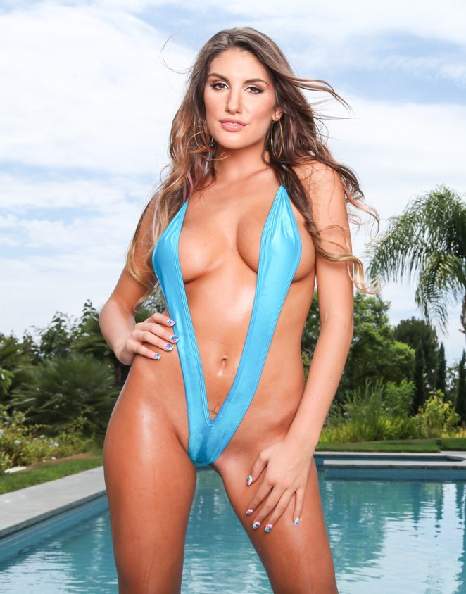 PHOTO   1c372115 e1511334165250 - DIZAM! August Ames turns up the Heat in this Bikini Shoot by the Pool
