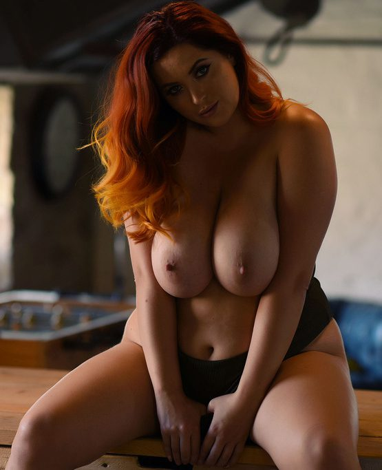 PHOTO | Lucy V 02 e1511751339584 - Redhead Beauty, Lucy V, Returns in this EROTIC Gallery