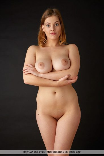 PHOTO   femjoy 14660100 008 366x548 - RIDICULOUSLY HOT REDHEAD! Delina G is One Busty Beauty who will leave you BREATHLESS!