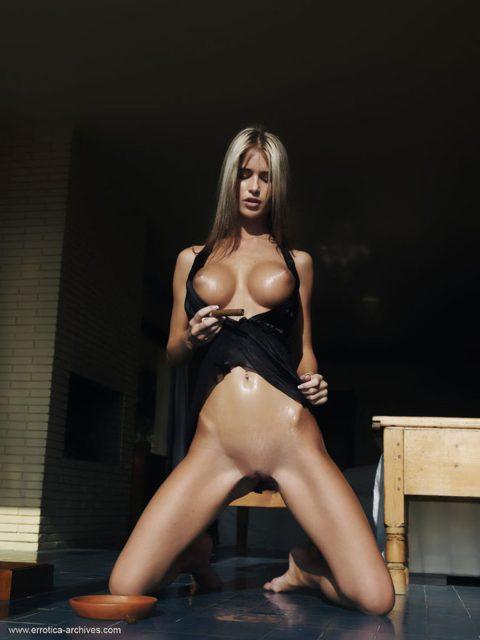 PHOTO | 00 142 480x640 - Hot Nessa Devil Smoking Cigarillo