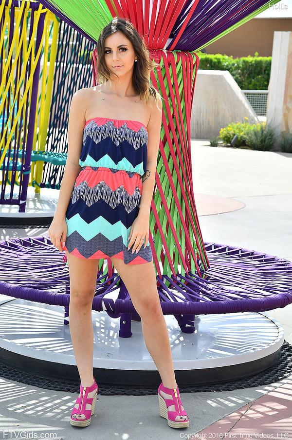 PHOTO   00 254 - Modeling The Sun Dress
