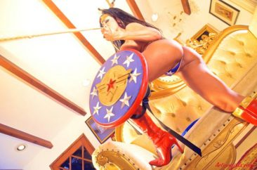 PHOTO | 04 314 366x242 - Cosplay Queen Armie Flores In A Sexy Wonder Woman Outfit