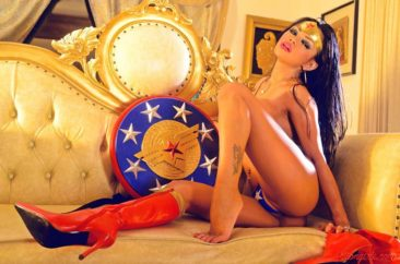 PHOTO | 06 314 366x242 - Cosplay Queen Armie Flores In A Sexy Wonder Woman Outfit