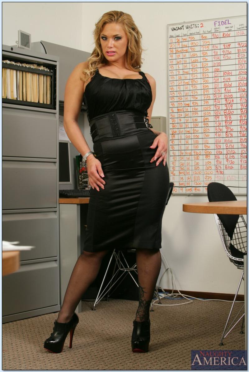 PHOTO   00 52 - Shyla Stylez Office Woman
