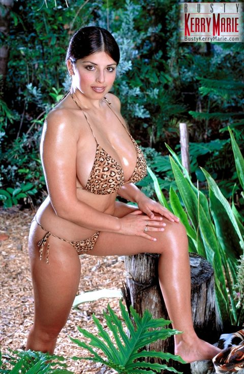 PHOTO | 00 23 480x736 - Kerry Marie Tiger Bikini