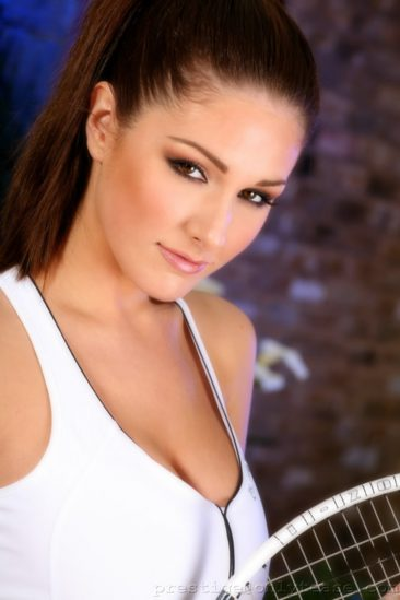 PHOTO | 00 52 366x549 - Lucy Pinder In White Tennis Outfit