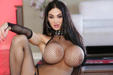 PHOTO   05 46 366x244 - Big Tits Babe Amy Andersen