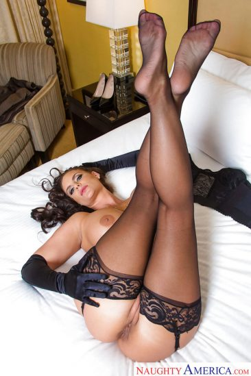PHOTO | 09 2 366x549 - Curvy Brunette Phoenix Marie In Stockings