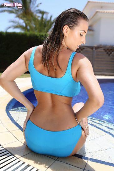 PHOTO   00 14 366x549 - Bikini Posing By The Pool