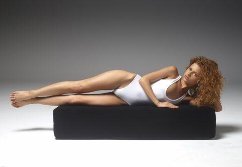 PHOTO   00 142 480x332 - Curly Redhead Julia White Swimsuit