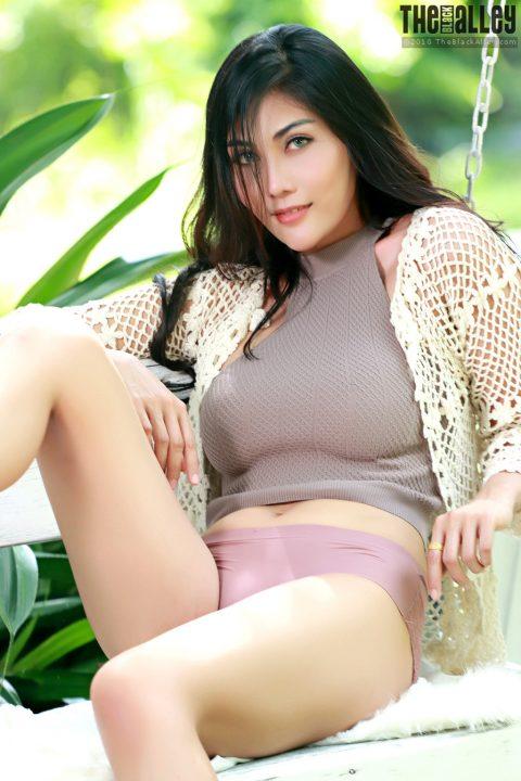 PHOTO | Hot asian in the garden 00 480x720 - Hot Asian Strips In The Garden