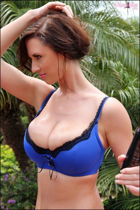 PHOTO   00 4 480x719 - Lana Kendrick blue lingerie