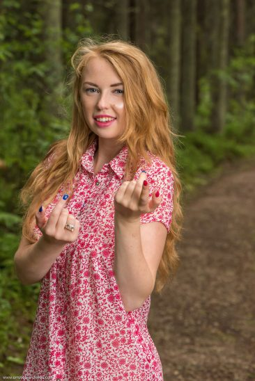 PHOTO   00 176 366x548 - Helene In The Forest