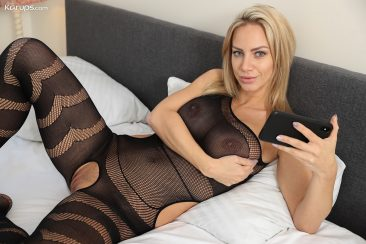 PHOTO   01 186 366x244 - Nathaly Cherie in Body Stocking