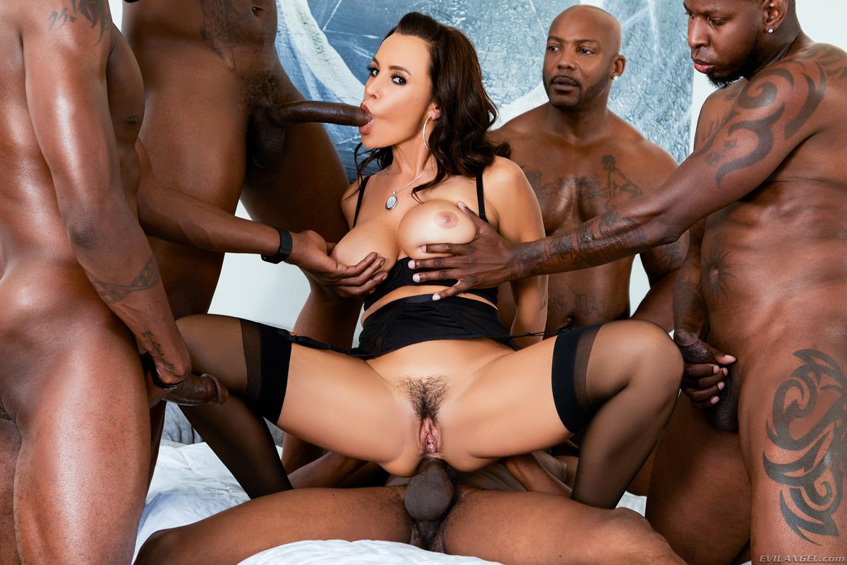 Lisa ann interracial dp hot porn