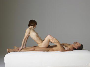 PHOTO | 01 2 366x275 - Alex and Flora Creative Cock Tease