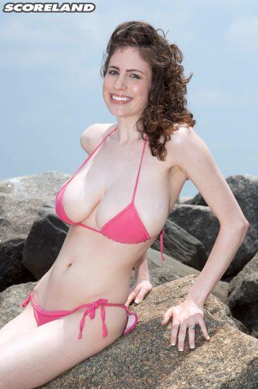 PHOTO   02 4 366x551 - Bsuty Bikini Brunette Babe