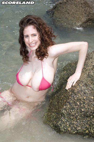 PHOTO   10 4 366x551 - Bsuty Bikini Brunette Babe