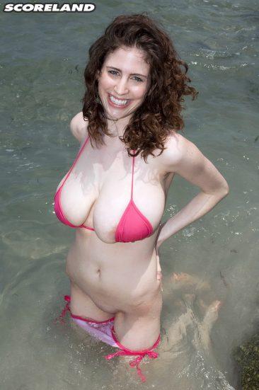 PHOTO   11 4 366x551 - Bsuty Bikini Brunette Babe