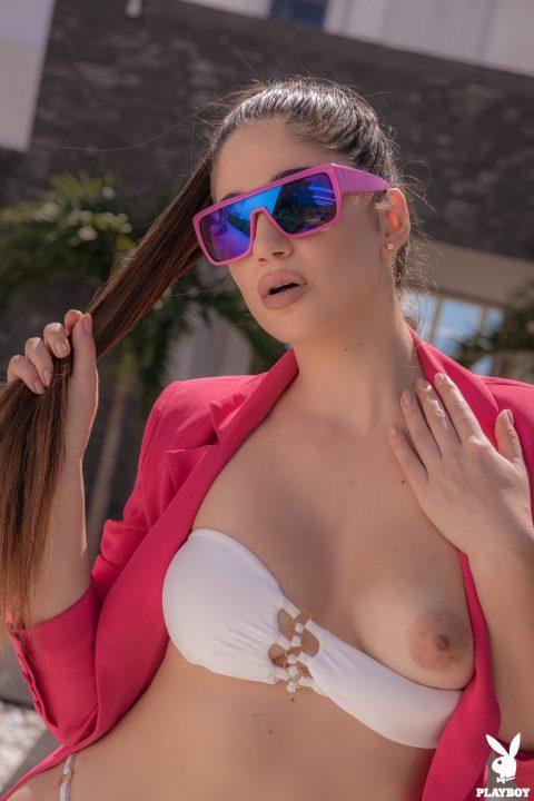 PHOTO   00 109 480x720 - Stunning Babe Rose Getting Naked On Yacht