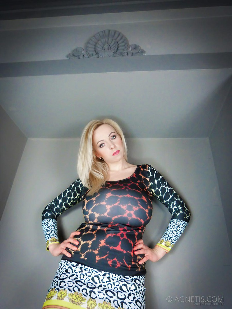 PHOTO   00 76 - Agnetis Miracle Tight Leopard Dress