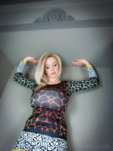 PHOTO   01 59 366x488 - Agnetis Miracle Tight Leopard Dress