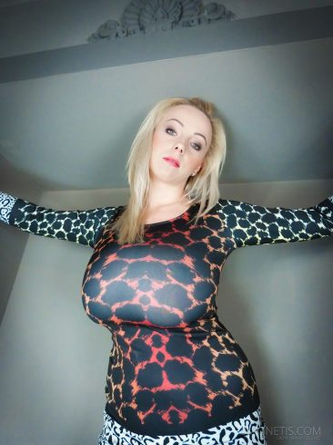 PHOTO   02 59 366x488 - Agnetis Miracle Tight Leopard Dress