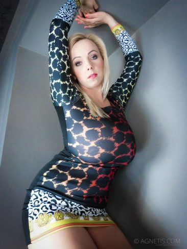 PHOTO   04 59 366x488 - Agnetis Miracle Tight Leopard Dress