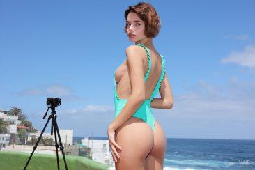 PHOTO   04 81 366x244 - Sexy Ariela In Tight Swim Suit